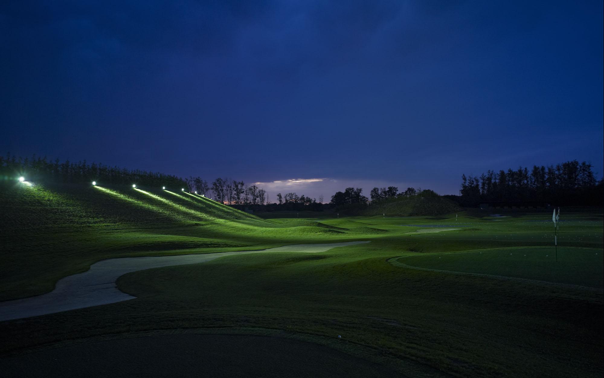 Practice du golf de Mionnay