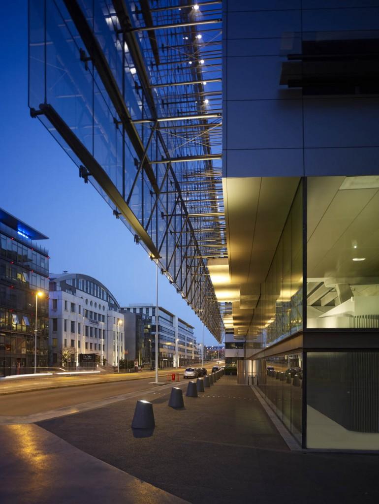 "Immeuble ""le Velum"" Lyon architecte Franck Hammoutène"