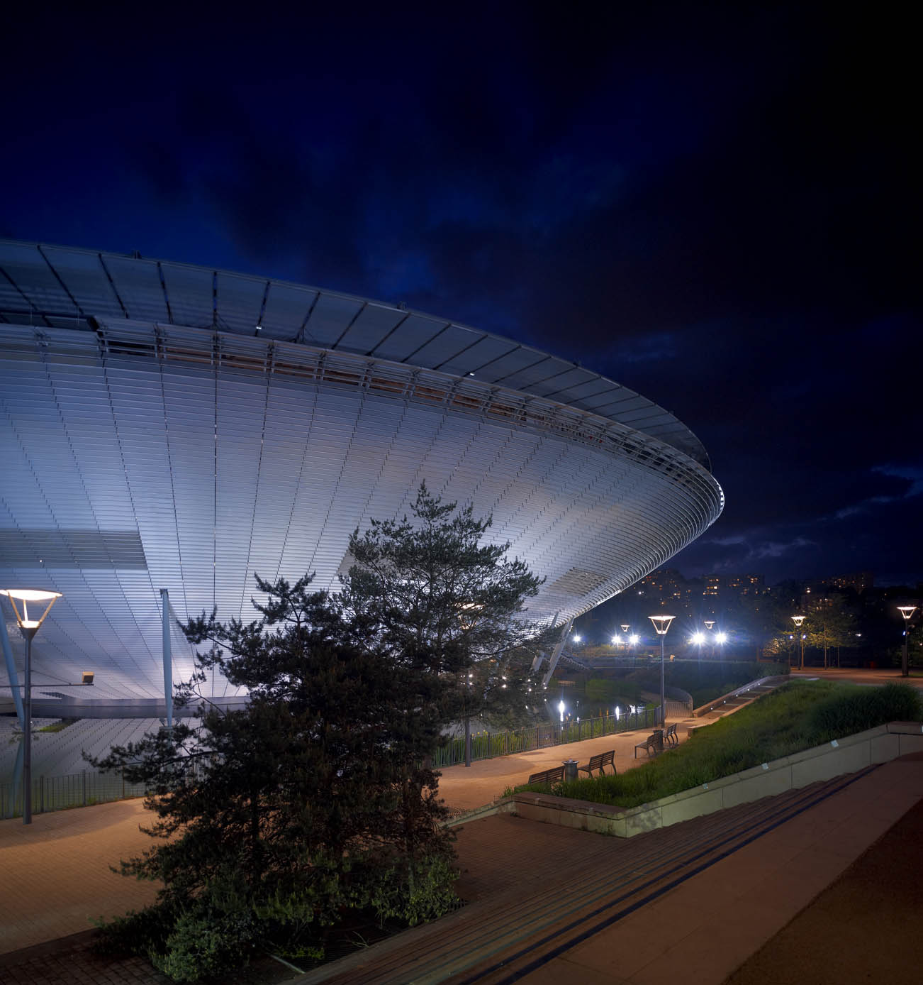 Salle 3000 Architecte Renzo Piano